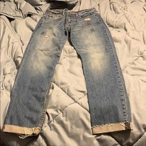 Abercrombie & Fitch Ankle Straight Jean 25 28 R